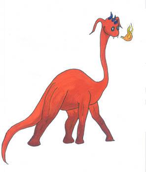Cute Fire Dragon