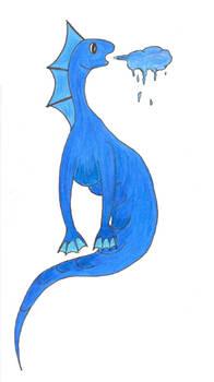 Cute Water Dragon