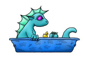 Aquarius Cute Dragon