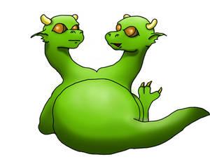 Gemini Cute Dragon