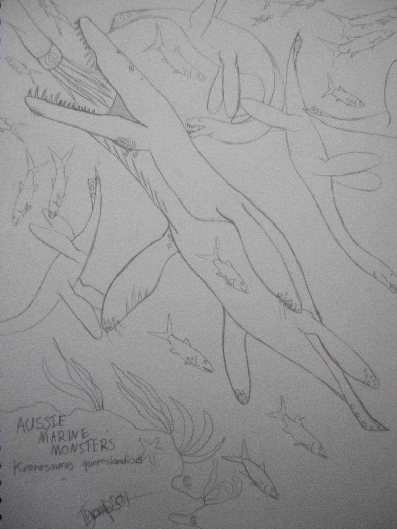 Kronosaurus queenslandicus by rexy12341