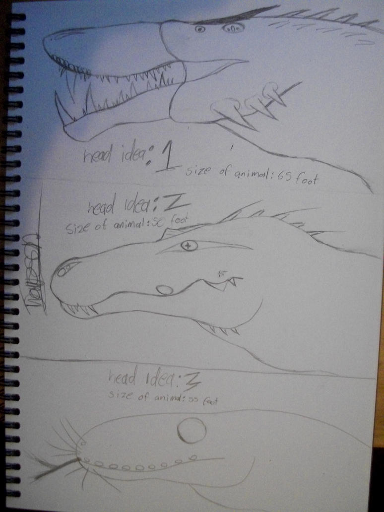 great serpent head pick one by rexy12341
