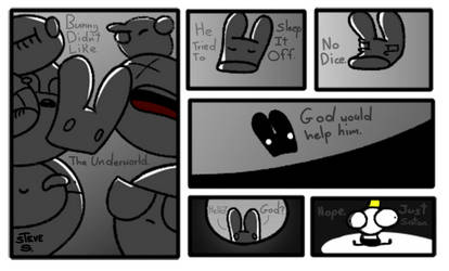 BrainDead comic #46: Bunny and the brainless by PLPXPP
