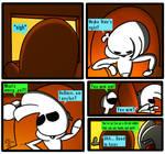 BrainDead comic #47: Zack's a real fun man by PLPXPP