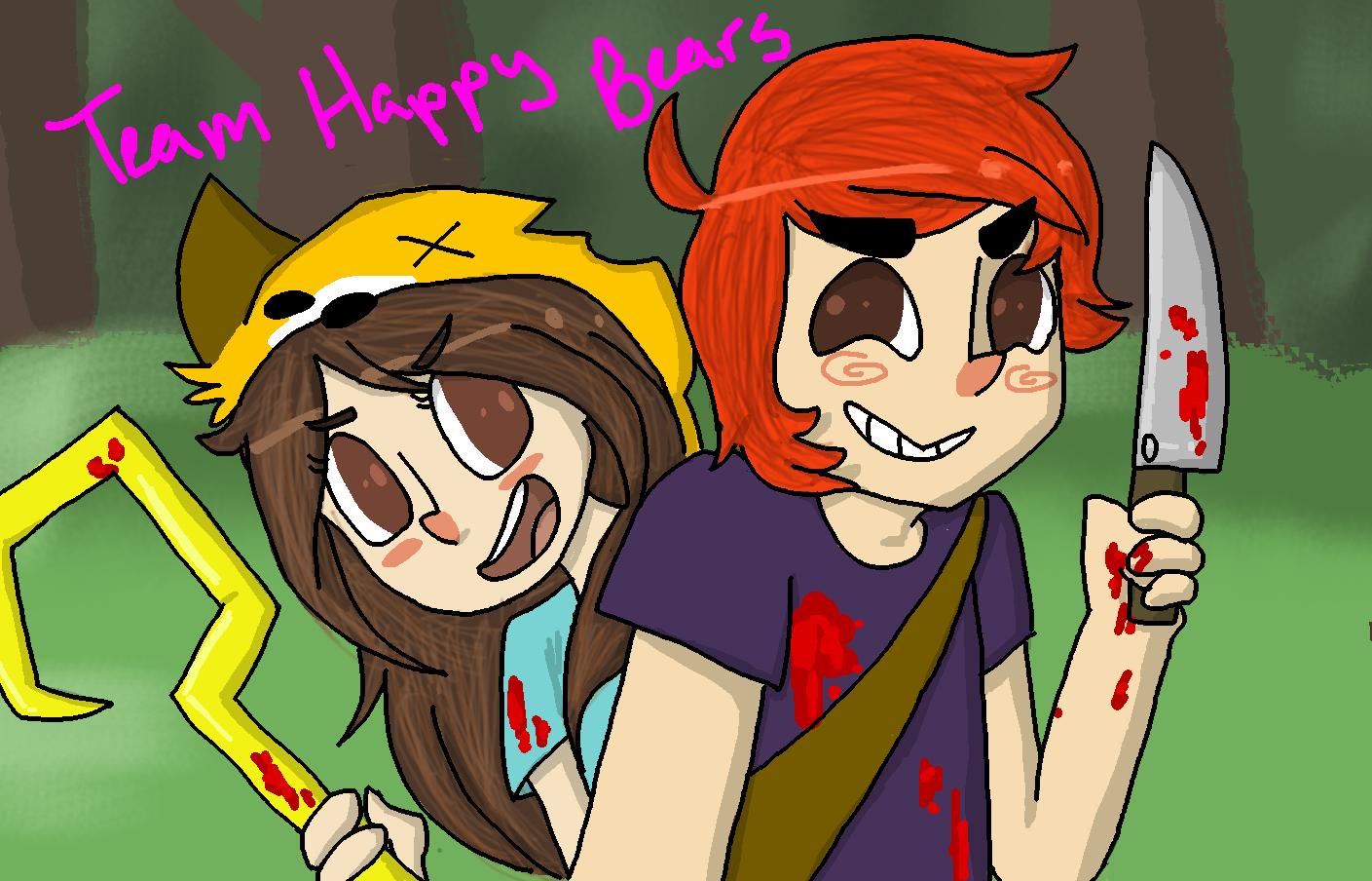 Zombie Apocalypse buddies by PastelShark