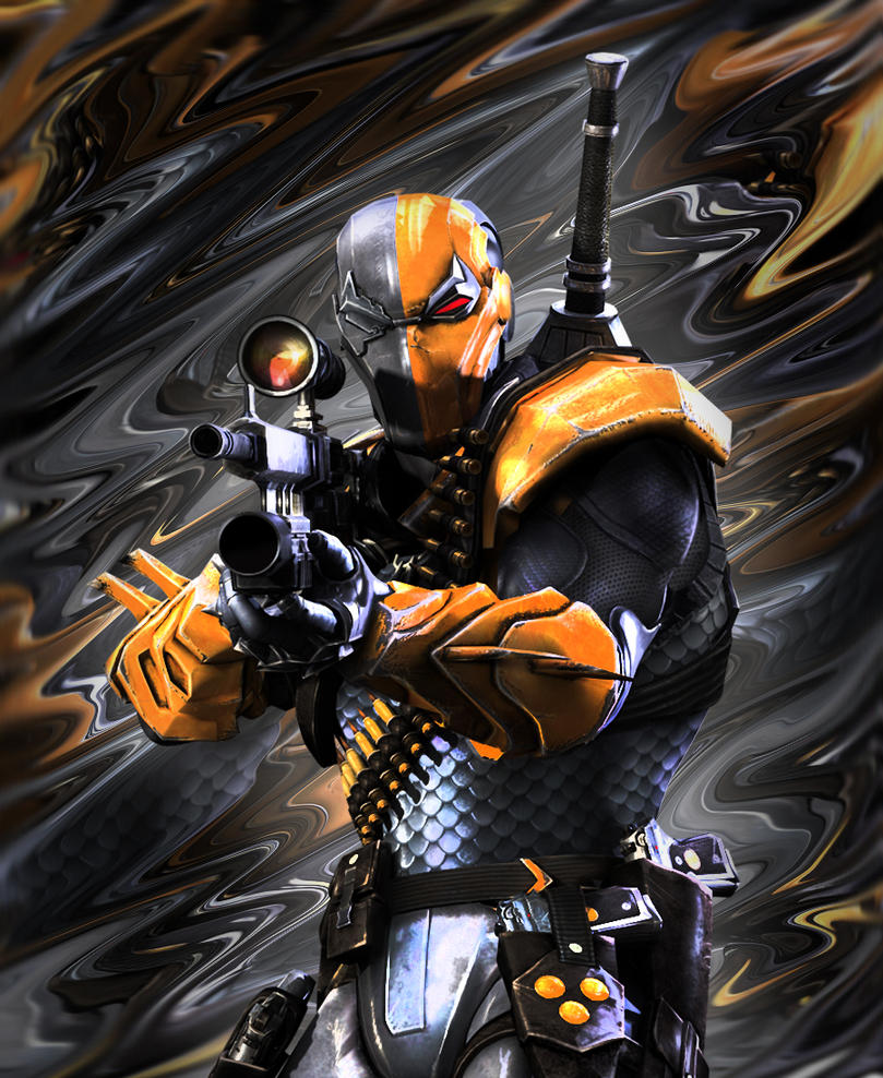 Deathstroke by PureDeluxe
