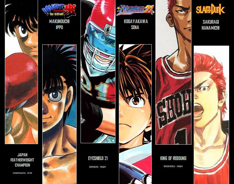 3 best sport manga final by oyi333 on DeviantArt