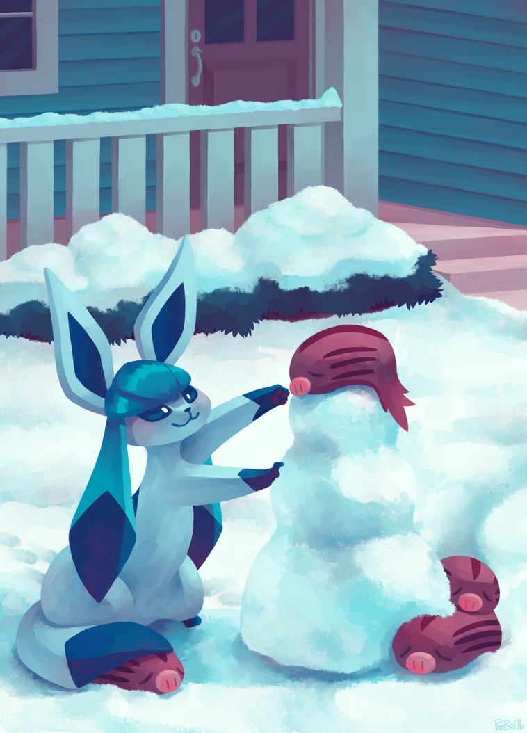Eevee House - Glaceon by Pombei