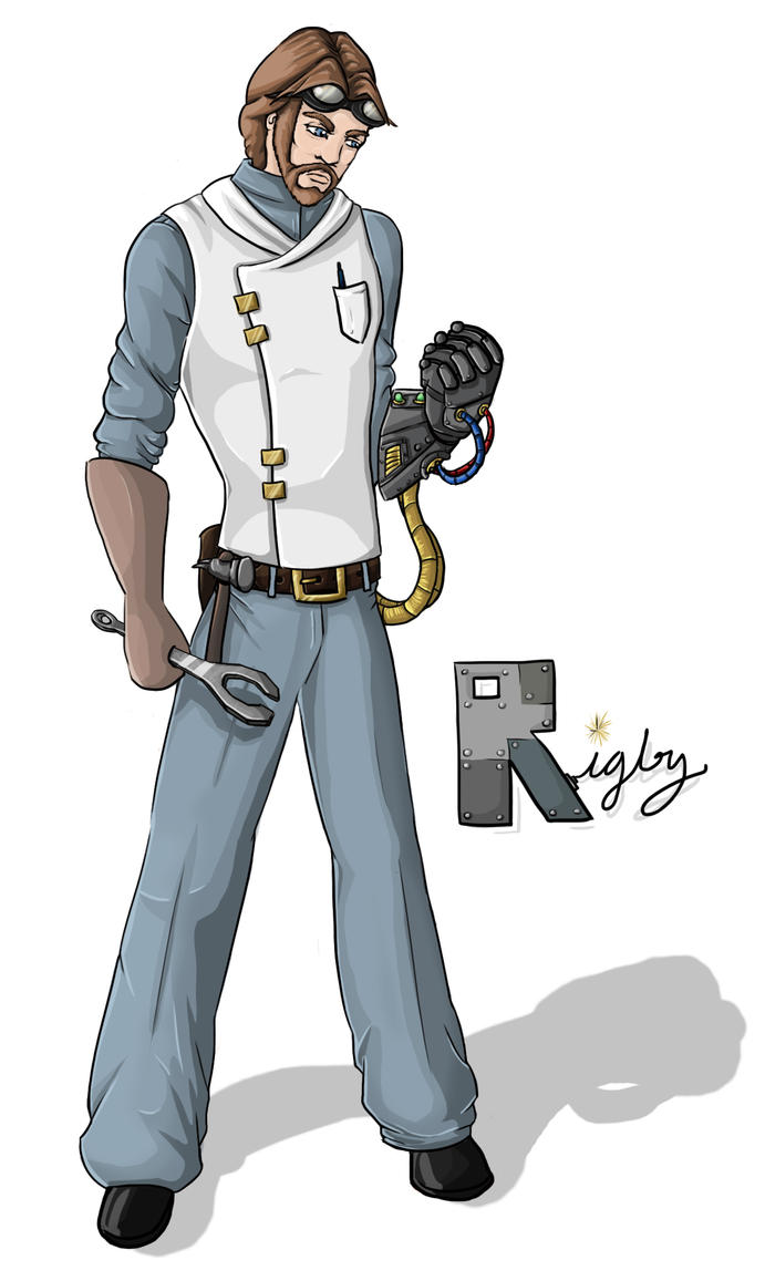 Rigby - D20 modern character by Melissajp
