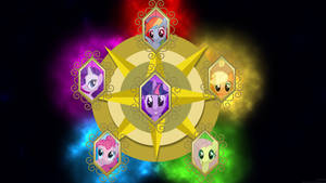Elements of Harmony Wallpaper by MrAlienBrony