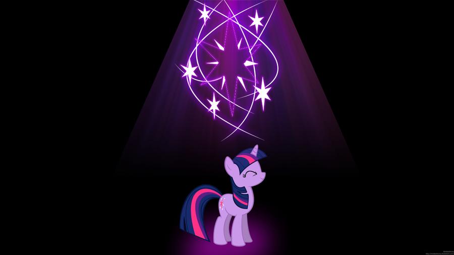 Twilight Sparkle Wallpaper by MrAlienBrony