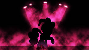 Stage Pinkie Pie Wallpaper by MrAlienBrony
