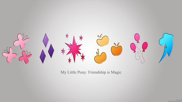 My Little Pony: Friendship Is Magic Wallpaper
