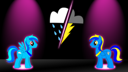 Davy and Blue Bolt
