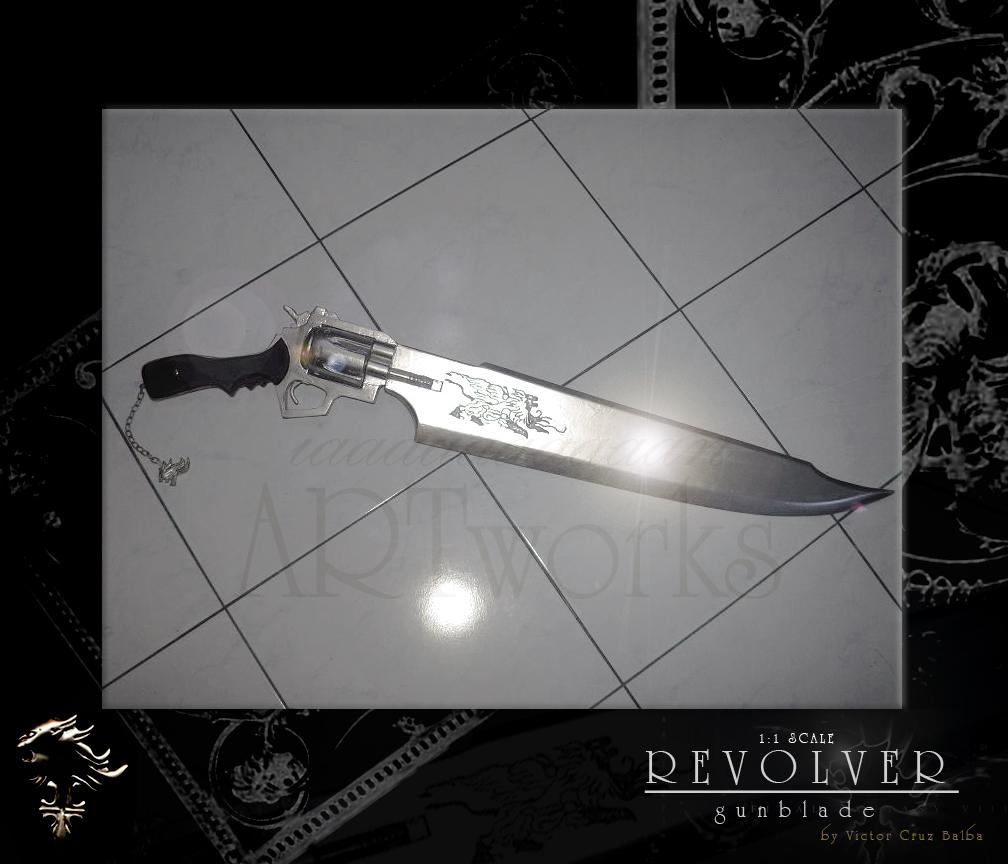 1:1 scale Revolver Gunblade by Iaaaaaaaaaan