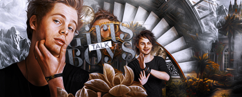 GIRLS TALK BOYS SIGNATURE by potatoo-xx