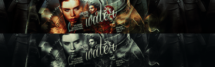 Under The Water | Banner(s) by potatoo-xx
