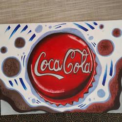 Coca cola drawing