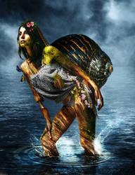 Aqua Lady by sologfx