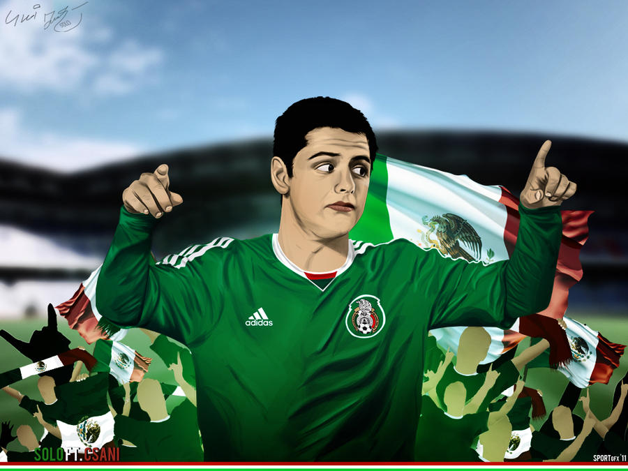 Chicharito Mexico Vector Wall By Sologfx On DeviantArt