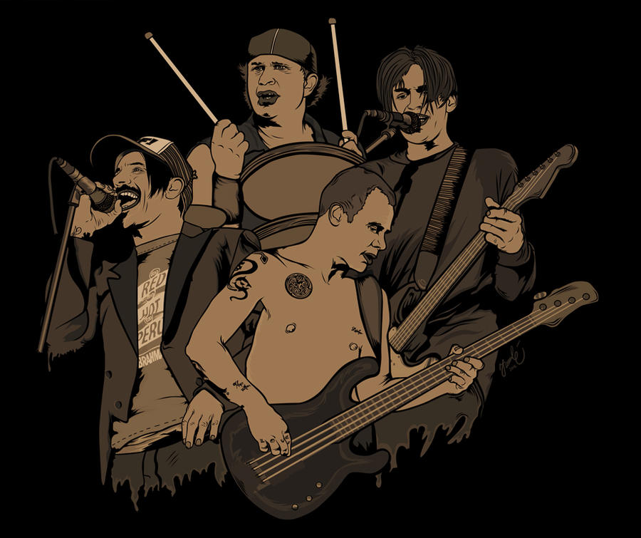 Red Hot Chili Peppers by sologfx