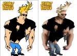 Untooned Johnny Bravo