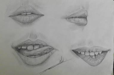 Lips study...