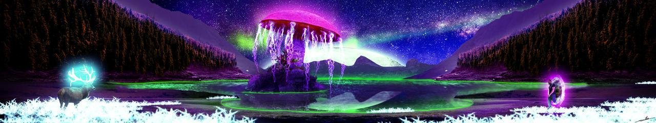 The Sacred Lake Tree