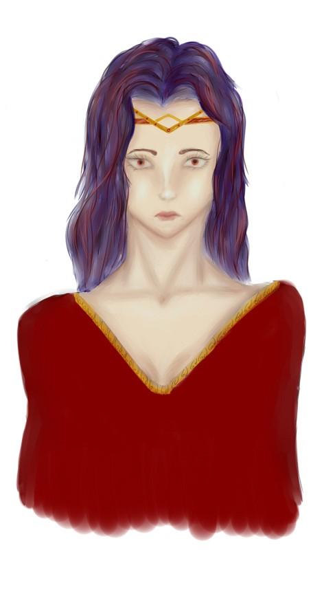 The lonely queen by kelarya