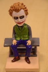Joker never make joke by Akwen