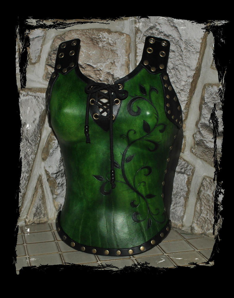 leather armor by Lagueuse