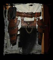 Berserk leather armor kit  -waist by Lagueuse