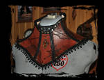 steampunk leather collar