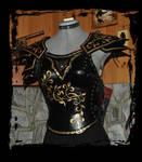 female leather armor