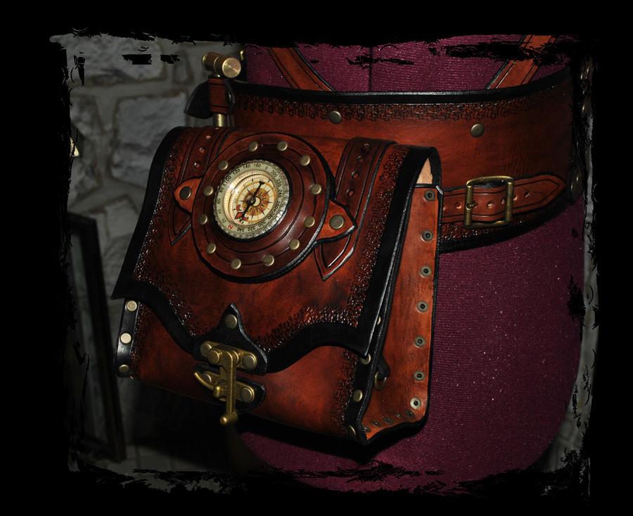 Steampunk belt utility pouch by lagueuse on deviantart - Steampunk bett ...