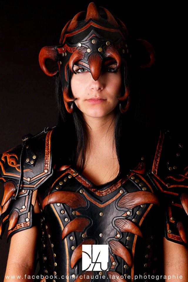 how to make leather armor in real life