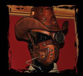 steampunk cowboy headgear by Lagueuse