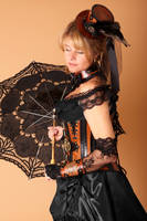 steampunk lady by Lagueuse