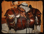 leather armor woman