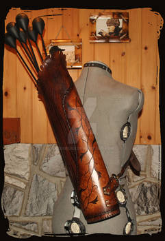 leather quiver elven