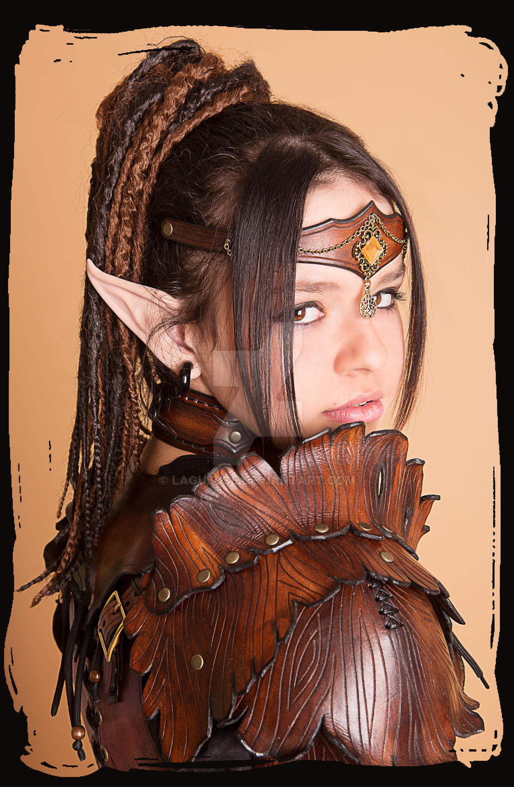 Wood Elven Armor 3 by Lagueuse