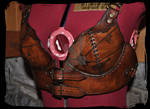 leather bra pirate steampunk
