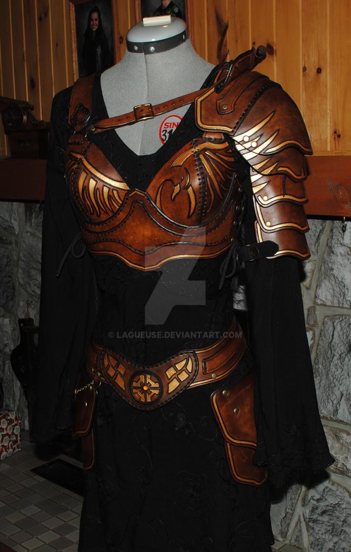 Light Leather Armor Female