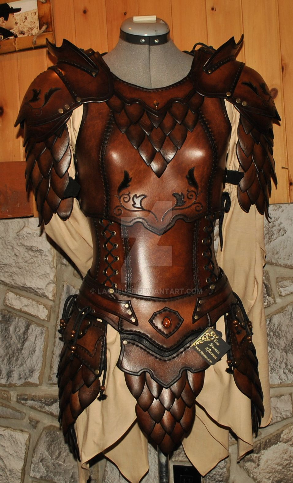 [LFA] Female Human Rogue Fantasy : characterdrawing