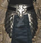 elven leather  belt armor scales