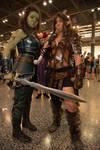 warcraft leather armor Garona