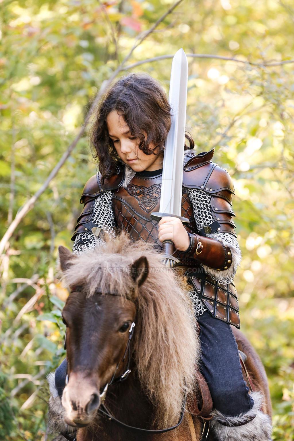 Kid Leather Armor Viking Celtic By Lagueuse On Deviantart
