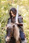 kid leather armor viking/celtic
