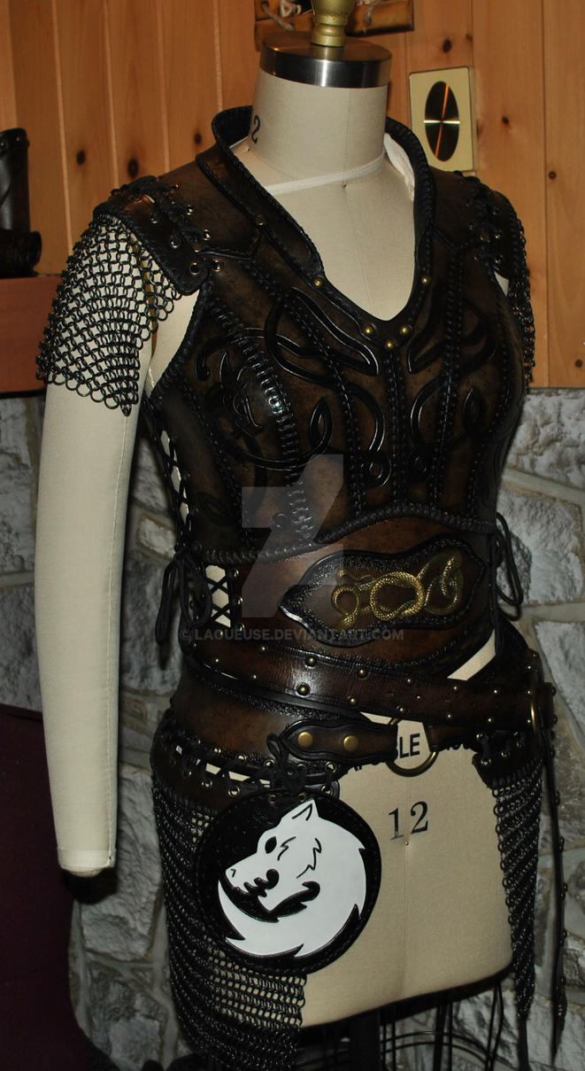 How To Craft Leather Armor For Larp