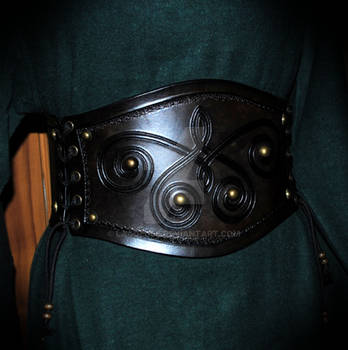 leather corset (vikings inspired)